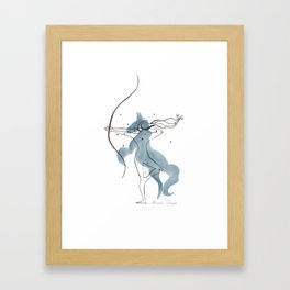 Sagittarius The Archer Framed Art Print