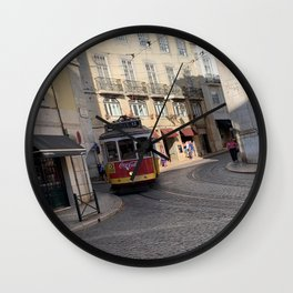 Portugal Transportation Wall Clock
