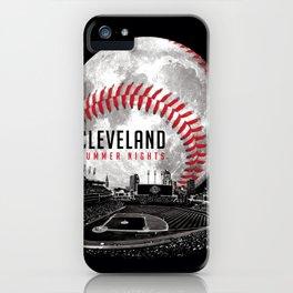 Cleveland Summer Nights iPhone Case