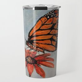 Majestic Monarch Butterfly Travel Mug