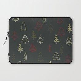Winter Trees in Slate Laptop Sleeve