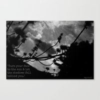 maori Canvas Prints featuring Maori Proverb by Ever Changing Photography
