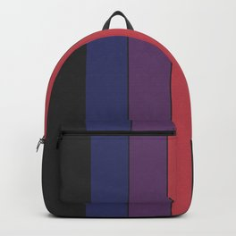 Five Colors and Black Backpack
