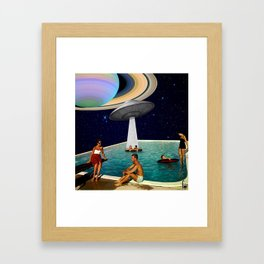 are we alone Framed Art Print