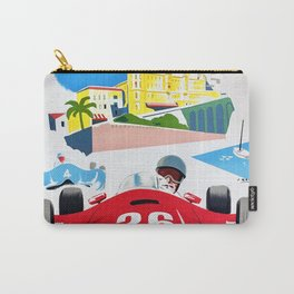 Monaco 1957 Grand Prix - Vintage Poster Carry-All Pouch