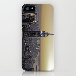 NYC City Scape - New York Photography iPhone Case