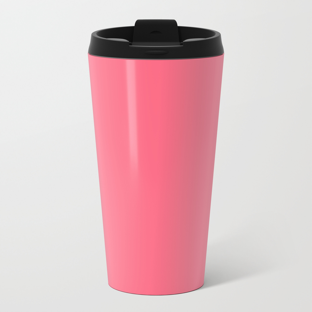 Wild Watermelon - Solid Color Travel Cup TRM8744018