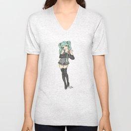 Hatsune Miku Unisex V-Neck