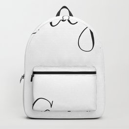 Gray Hair Don't Care Backpack