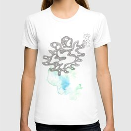 Scandi Micron Art Design | 170330 Liquid Souls 13 T-shirt