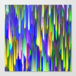 Colorful digital art splashing G394 Canvas Print