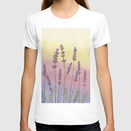 Lavender in Sunset T-shirt