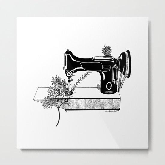 Making Tree Metal Print