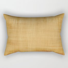Burlap Brown Look Rectangular Pillow