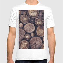 The Wood Holds Many Spirits // You Can Ask Them Now Edit T-shirt