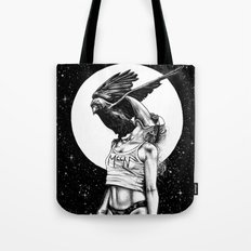 Lovers in the night Tote Bag