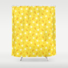 Volley Party! Shower Curtain