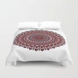 Enticing red Duvet Cover
