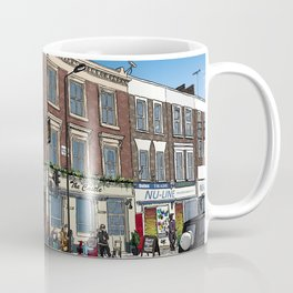 London Blue Sky Coffee Mug