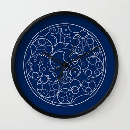 Gallifreyan Sherlock Wall Clock