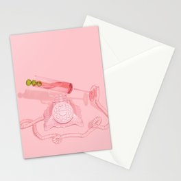 Call of the Cocktails Stationery Cards