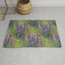Lupines Galore.... Rug