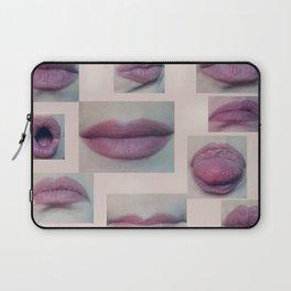 Read my Lips Laptop Sleeve