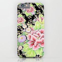 Kimono Bouquet Chintz iPhone Case