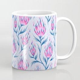 Fire Flower - Light Pink Coffee Mug