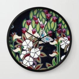 Moon Garden Wall Clock