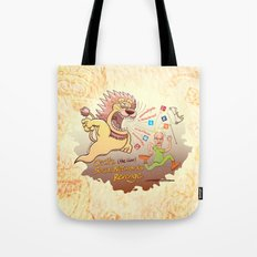 Cecil the Lion's Social Networks Revenge Tote Bag