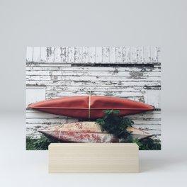 canoe Mini Art Print