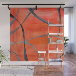 Autumn intertwined Wall Mural