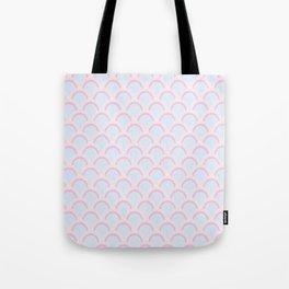 Pearly Glow Pastel Tote Bag