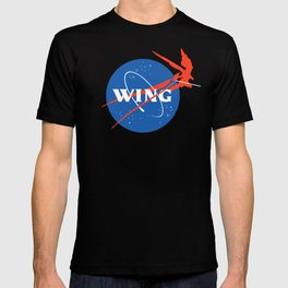 Mecha Aeronautics and Colony Administration T-shirt