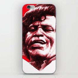 James Brown iPhone Skin