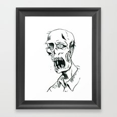 Worm Food Framed Art Print