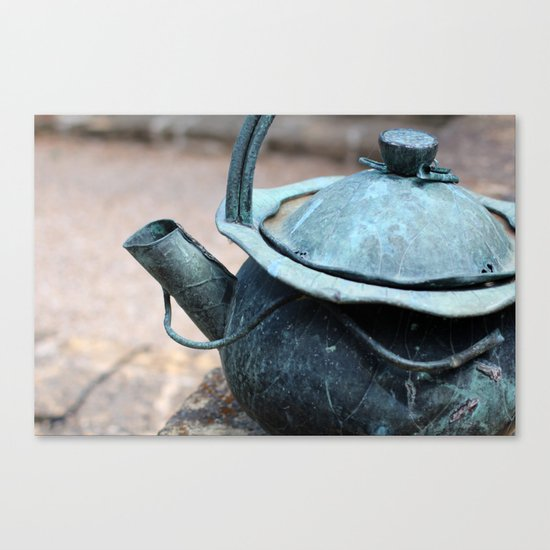 Tea Time, anyone? Canvas Print