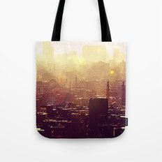 Sunset over Cairo Tote Bag