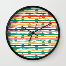 Artsy Morning Wall Clock