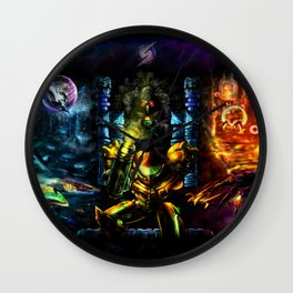 Metroid: 25 Years Wall Clock