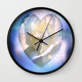 Forever Love Abstract  Wall Clock