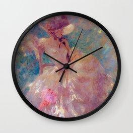 Louis Icart - Hunting - Remembering Vato - Digital Remastered Edition Wall Clock