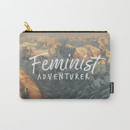 Feminist Adventurer Carry-All Pouch
