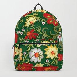 Art Flowers V11 Backpack