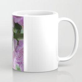 Bumble Bee in Foxglove Coffee Mug