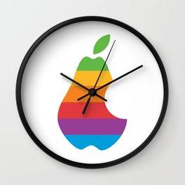 Pear Wall Clock