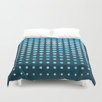 snow Duvet Covers featuring Snow by Last Call