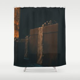 Day 1163 /// Children are dying in US custody Shower Curtain