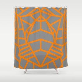 Lunar Lines Shower Curtain